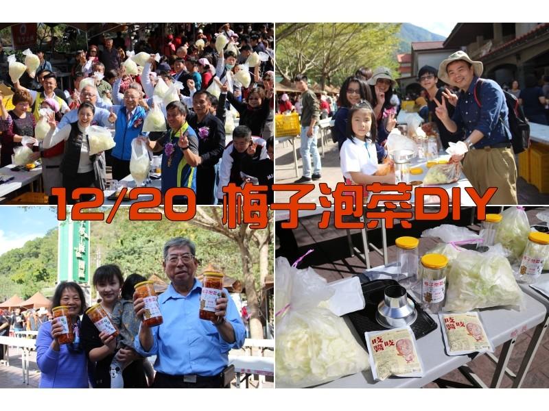 (已結束)12/20梅子泡菜DIY預約報名資訊