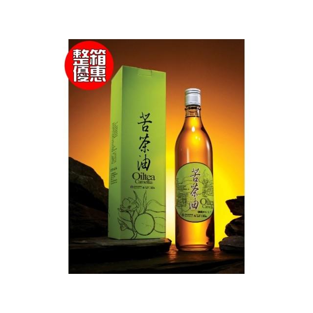 【箱】苦茶油(進口籽)6入