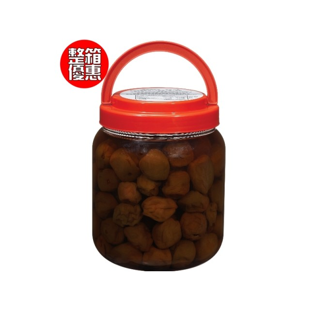 【箱】紫蘇梅(經濟桶裝)6入