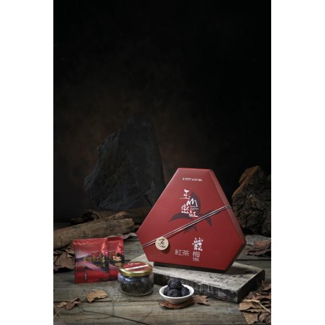 玉山巒紅-紅茶梅禮盒