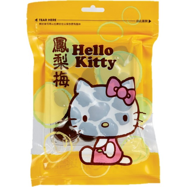 HELLO KITTY  鳳梨梅